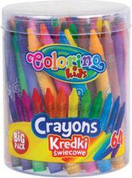 Colorino Kredki Ĺ›wiecowe 64 kolory