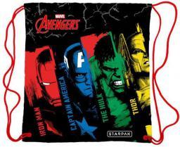 Starpak Worek szkolny Avengers czarno-wielokolorowy (372434)