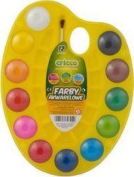 Cricco Farby akwarelowe 12 kolorów paletka - WIKR-1042907