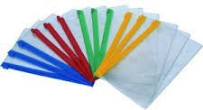 D.Rect Torebka A5 ZIPP BAG PVC z suwakiem 00914 - WIKR-0994329