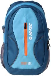 Hi-tec Plecak MANDOR 20L MYKONOS BLUE/AQUARIUS/ORANGE PEEL