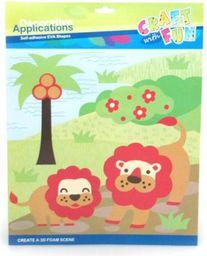 Craft with Fun Zestaw kreatywny Craft with Fun Lew 308975 - WIKR-1021910