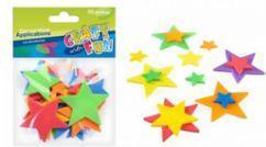 Euro Trade Ozdoby dekoracyjne - Piankowe gwiazdki