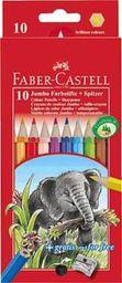 Faber-Castell Kredki ołówkowe Jumbo 10 kolorów - WIKR-052488
