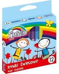 Grand Kredki świecowe 12 kolorów Fiorello - WIKR-935841