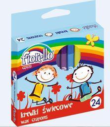 Grand Kredki Ĺ›wiecowe 24 kolory Fiorello