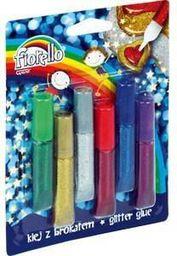 Grand Klej brokatowy 6 kolorów Fiorello - WIKR-961031