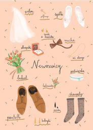 HENRY Karnet Ślub Nowożeńcy - WIKR-1040090