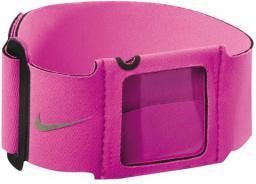 Nike Opaska na ramię Sport Strap Pink Force/silver