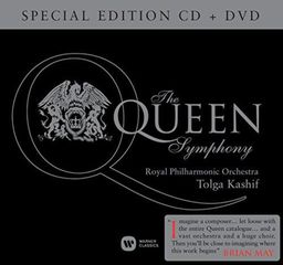 CLASSICAL ROYAL PHILHARMONIC ORCHESTRA / TOLGA KASHIF KASHIF: THE QUEEN SYMPHONY (CD+DVD)