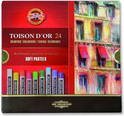 Koh I Noor Pastele suche 24 kolory Toison