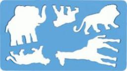 Koh-I-Noor Szablony zwierząt Lew