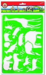 Koh-I-Noor Szablony zwierząt Safari - WIKR-052530