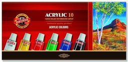 Koh-I-Noor Farby akrylowe 10 kolorów (147681)