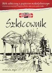 Blok biurowy Koh-I-Noor Blok szkicowy A4 z papierem makulaturowym - WIKR-1007179