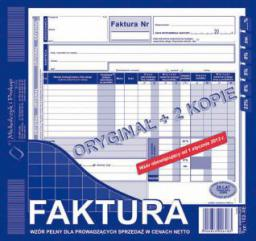 Michalczyk & Prokop Faktura VAT 2/3 A4 102-XE pełne (WIKR-096837)