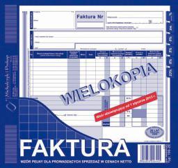 Michalczyk & Prokop Faktura VAT 2/3 A4 102-2E pełna (WIKR-096846)