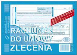 Michalczyk & Prokop Rachunek do umowy zlecenia A5 1+1 511-3R - WIKR-1033104