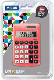 Kalkulator Milan Kalkulator kieszonkowy Pocket Touch 150908RBL czerwony - WIKR-952601