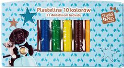 Paso Plastelina 10 kolorów Studio Pet`s PEF-3010 - WIKR-1048431