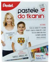 Pentel Zestaw pastele do tkanin 15 kolorów - WIKR-1043781
