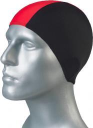 Gwinner Czepek pływacki Bathing Cap Czarno-czerwony