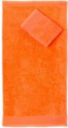 FARO Ręcznik AQUA 50x100 Frotte Pomarańcz 500g (FAO020)