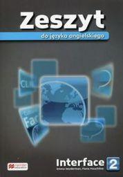 Interface 2 Zeszyt do języka angielskiego