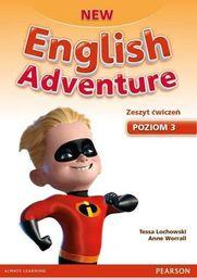 English Adventure New 3 WB + DVD