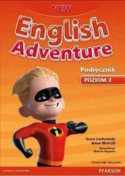 English Adventure New 3 SB + CD wieloletni