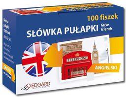 Angielski 100 Fiszek Słówka Pułapki