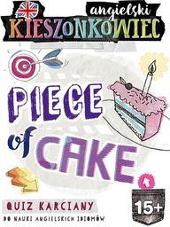 Kieszonkowiec angielski.  Piece of Cake (15+) - 242336