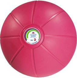 TRIAL Piłka lekarska ciśnieniowa Trial różowa 3 kg (007 0004)