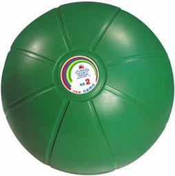 TRIAL Piłka lekarska ciśnieniowa Trial zielona 2 kg (007 0003)