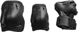 Rollerblade Zestaw ochraniaczy na łyżworolki ROLLERBLADE BLADEGEAR 3 PACK BLK 06310200001 czarne r. XL (12552)