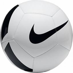Nike Piłka nożna PITCH TEAM SC3166-100 biała, czarne logo (01795)