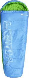 Meteor Śpiwór YMER niebieski/zielony (81099)