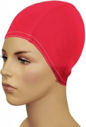Gwinner Czepek pływacki Bathing Cap For Long Hair Czerwony