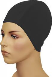 Gwinner Czepek pływacki Bathing Cap For Long Hair Czarny