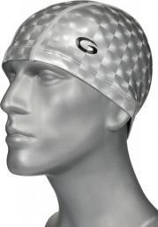 Gwinner Czepek pływacki PU Phantom Style Cap Srebrny