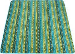 King Camp Koc piknikowy zielono-niebieski 200x175cm (80091)