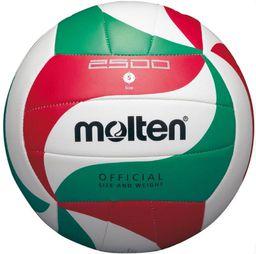 Molten Piłka siatkowa Molten biała r. 5 (V5M2500)