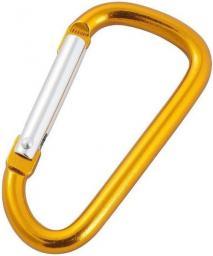 Rockland Karabinek do kluczy Żółty