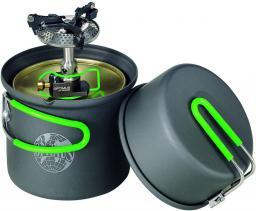 Optimus Zestaw Palnik i naczynia Crux Lite/Terra Solo Cookset czarno-zielone (8019749)