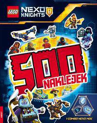 Ameet 500 naklejek. LEGO Nexo Knights (231155)