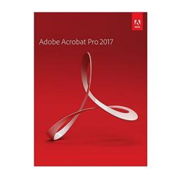 Program Adobe Acrobat Pro 2017 PL WIN Retail (65280570)