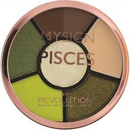 Makeup Revolution My Sign Complete Eye Base Zestaw do makijażu oczu i brwi Pisces  1szt