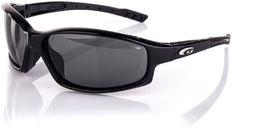 Goggle Okulary przeciwsłoneczne czarne (E128-1P)