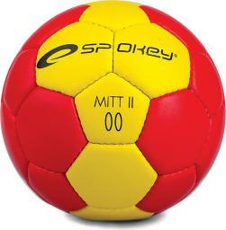 Spokey Piłka ręczna MITT II żółto-czerwona r. 00 (834051)