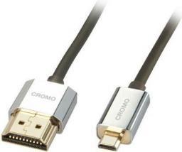 Kabel LINDY HDMI Micro HDMI, 0.5, Czarny (41680)